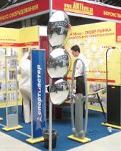 """АНТИвор на выставке """"Торговое оборудование — 2006"""" в г. Одессе"""