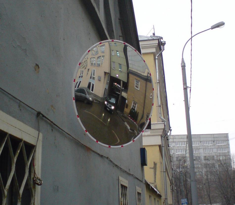 Обеспечение безопасности дорожного движения с помощью уличных зеркал. Выбор дорожного зеркала