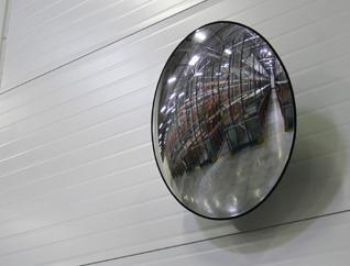 Больше обзора - больше безопасности - Обзорные зеркала для складов. Правильный выбор, советы по применению