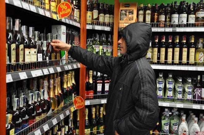 Защита алкоголя от краж