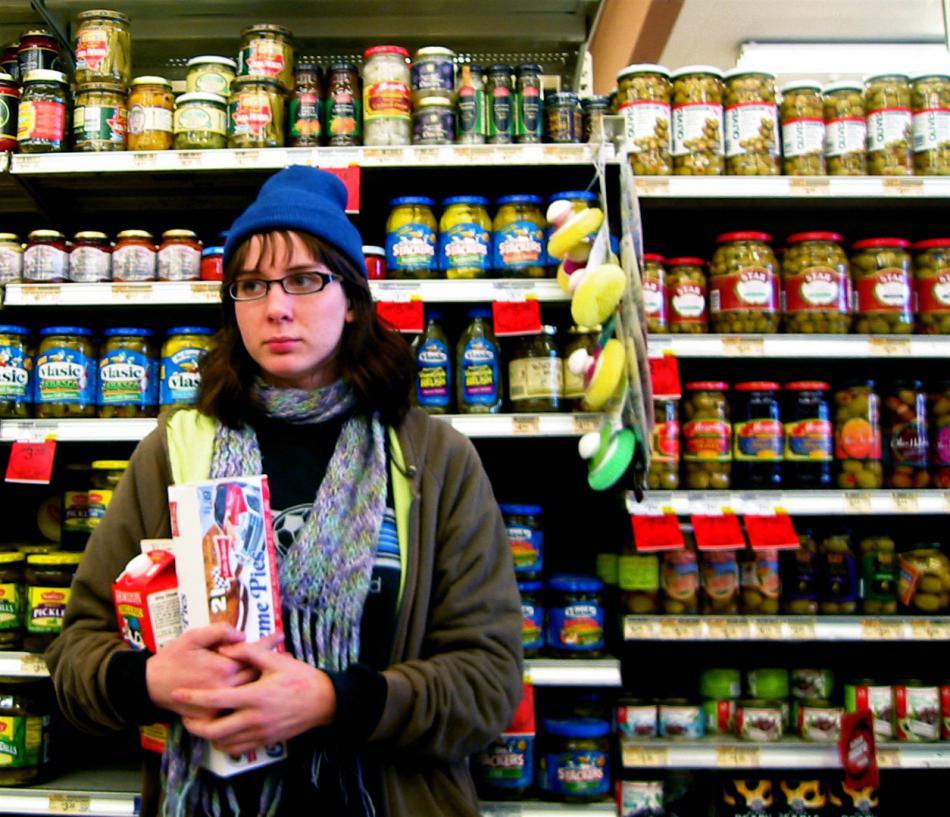 Защита от краж в магазинах продуктов, супер- и гипермаркетах